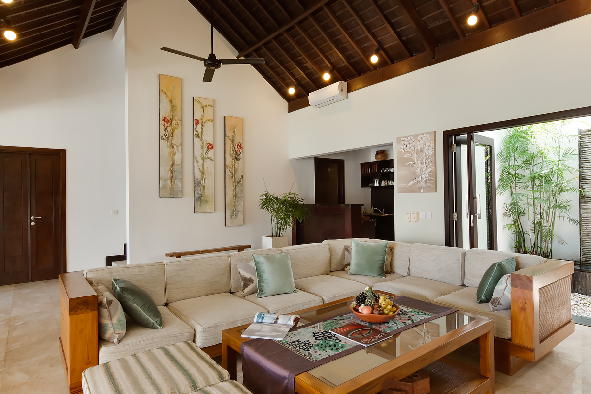 Villa Lotus sitting lounge