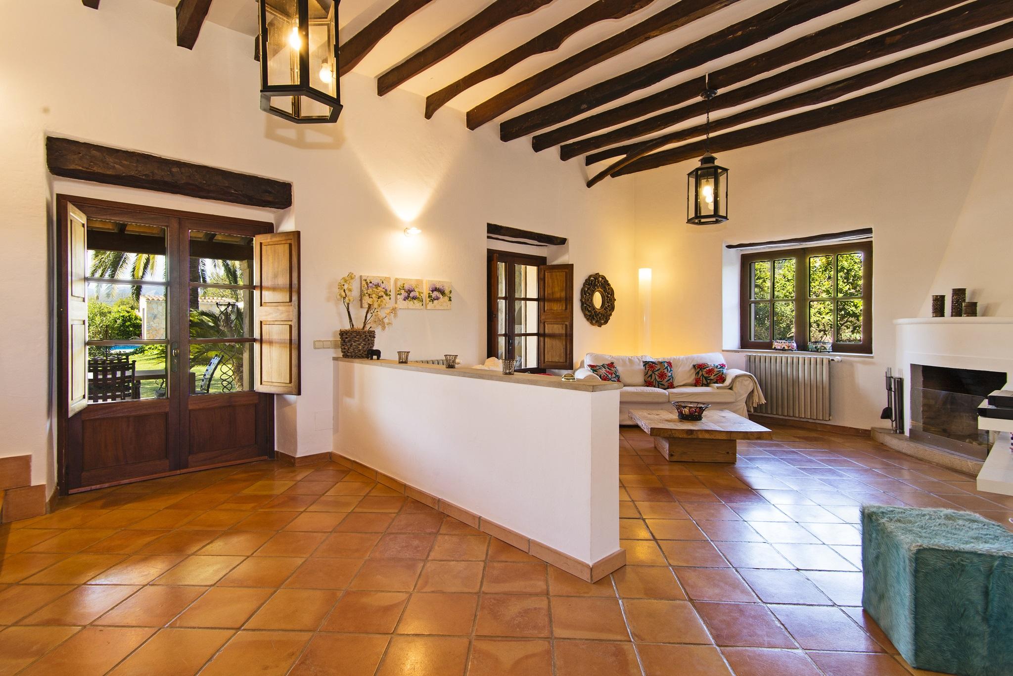 Finca Santa Maria living area