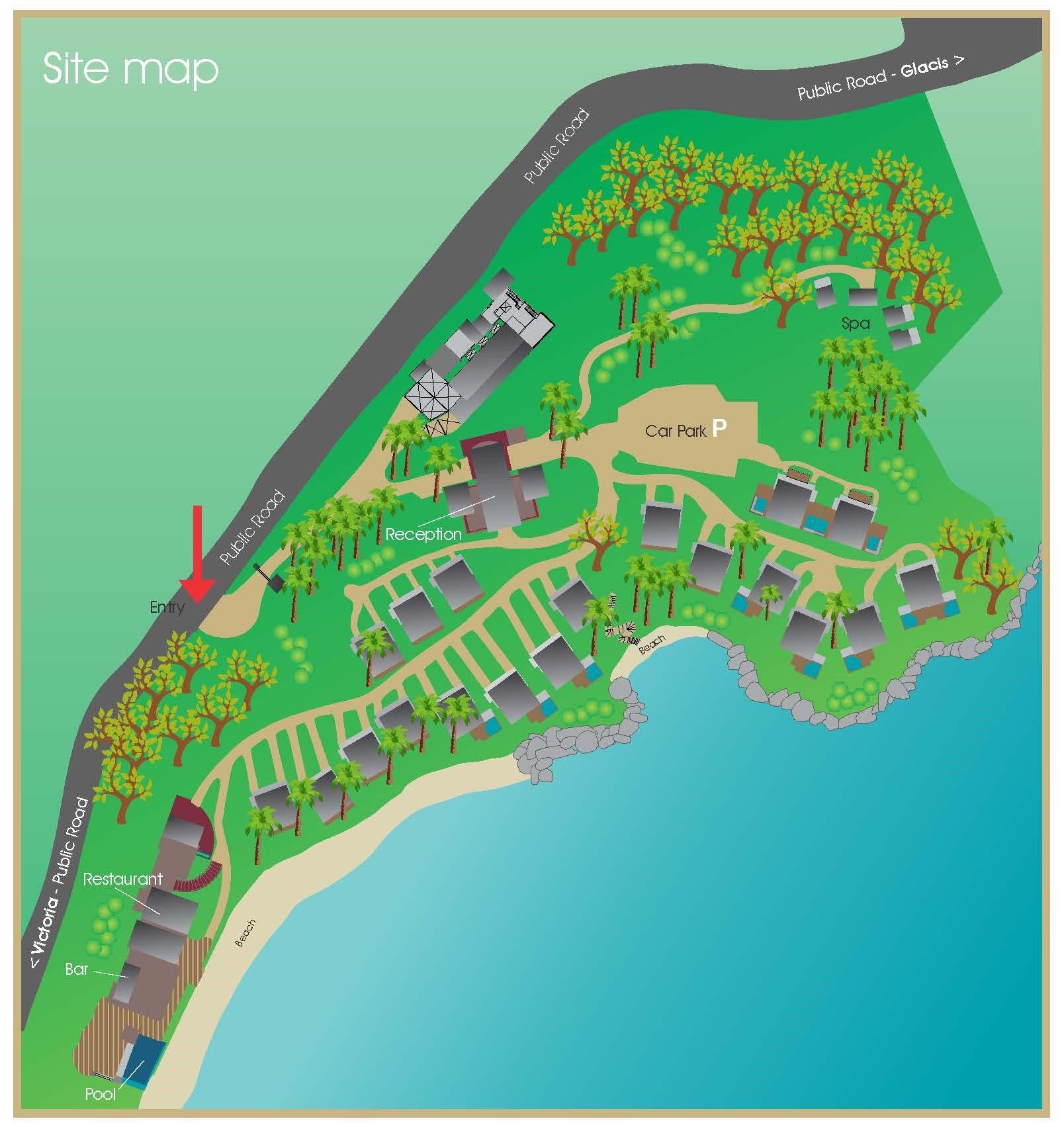 Carana Site Map Low Res