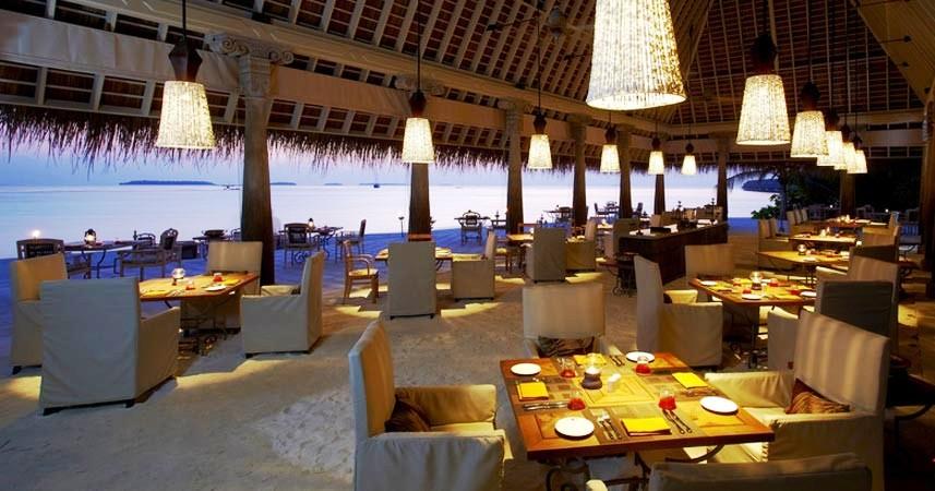 Maldives Anantara Kihavah 9 restaurant