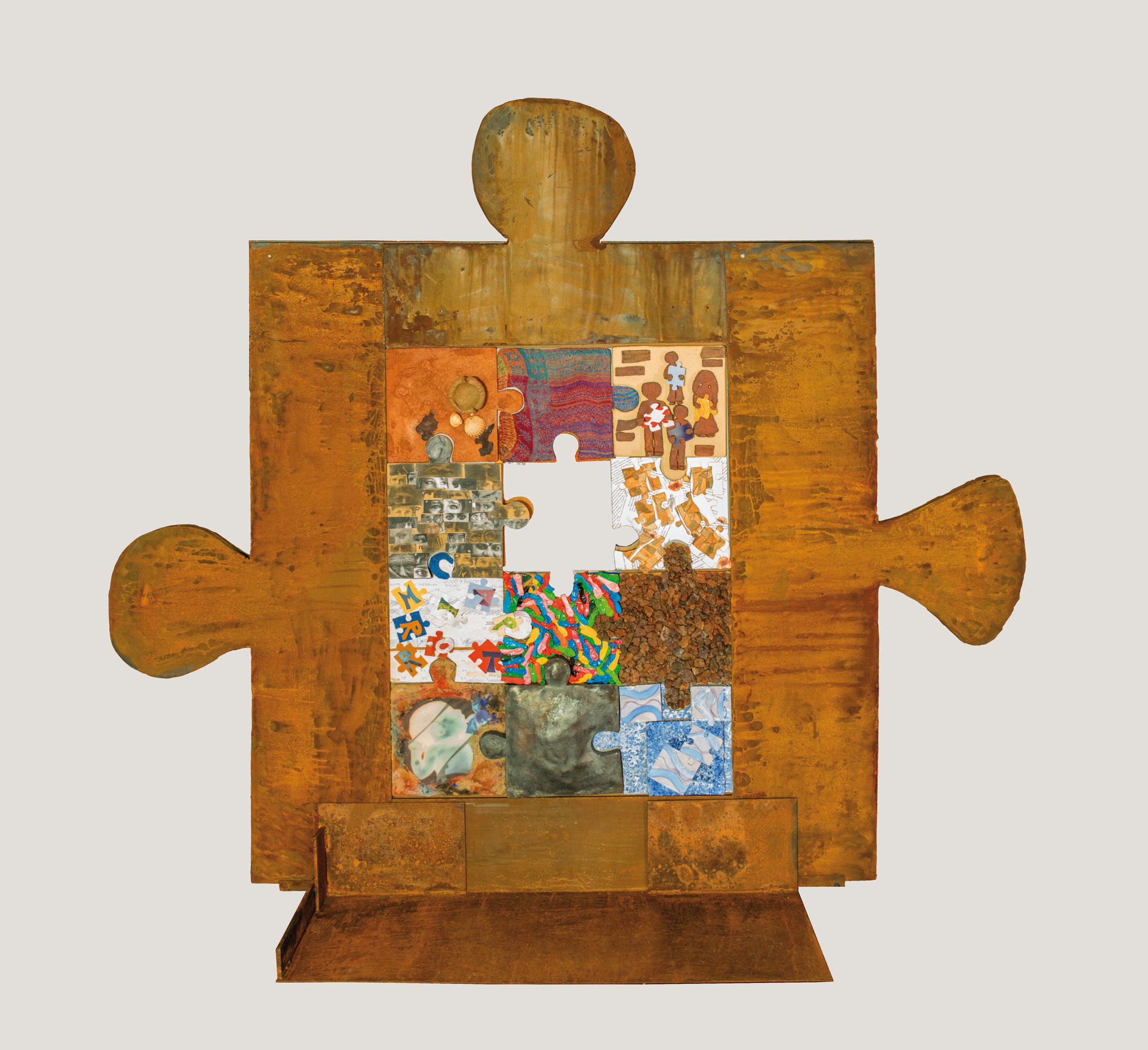 puzzle. 190x140 cm.