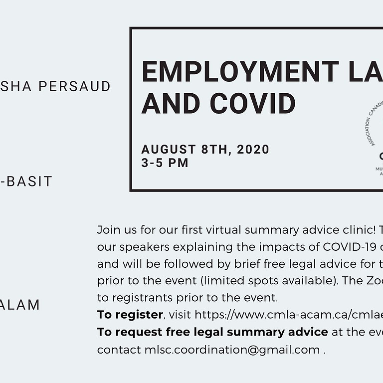Employment Law and COVID