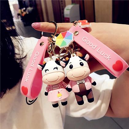 porte clés vache fille ou garçon