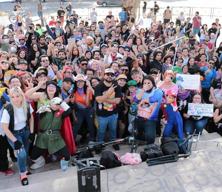 Karaoke en Plaza Italia