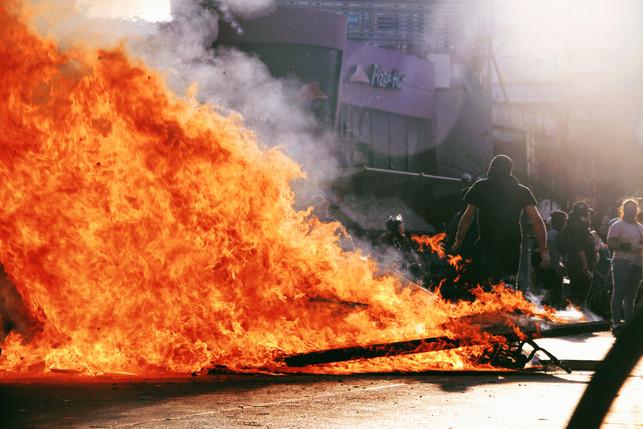 La calle bota fuego