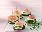Prosciutto hors d'oeuvre