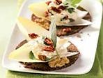 Nut-Tomato Dream on Mestemacher Sunflower Rounds