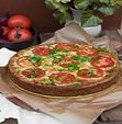 French Quiche with Pumpernickel Base