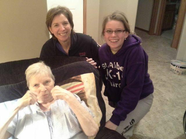 Jen Rew, Grandma, Aunt Cilla