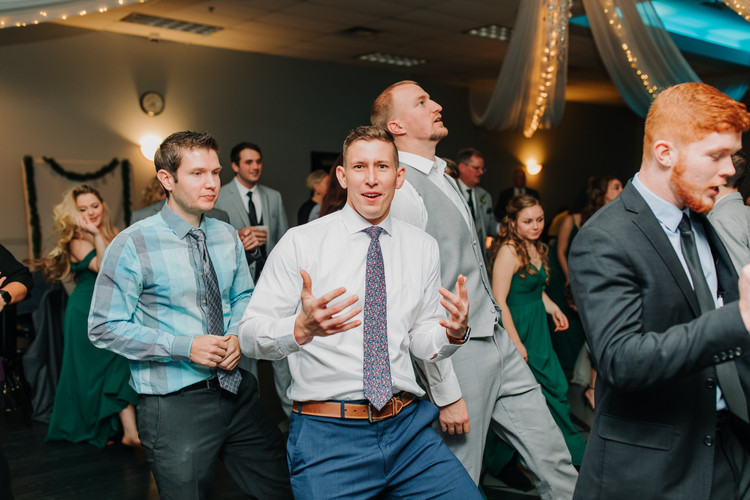 Friends Dancing at the Wedding