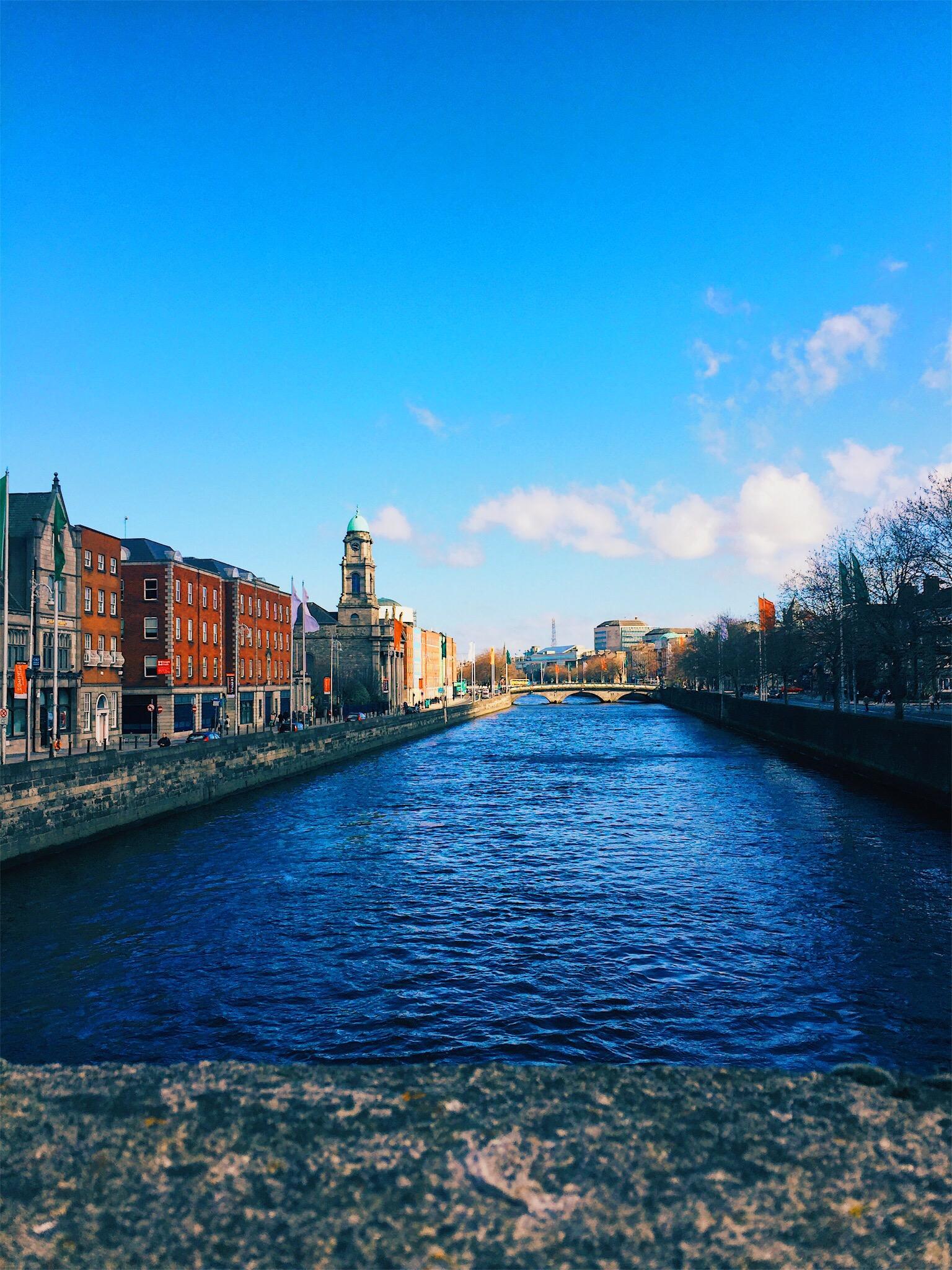 River Near Guinness Factory