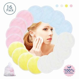MakeUp Remover Pads (Various Colors)
