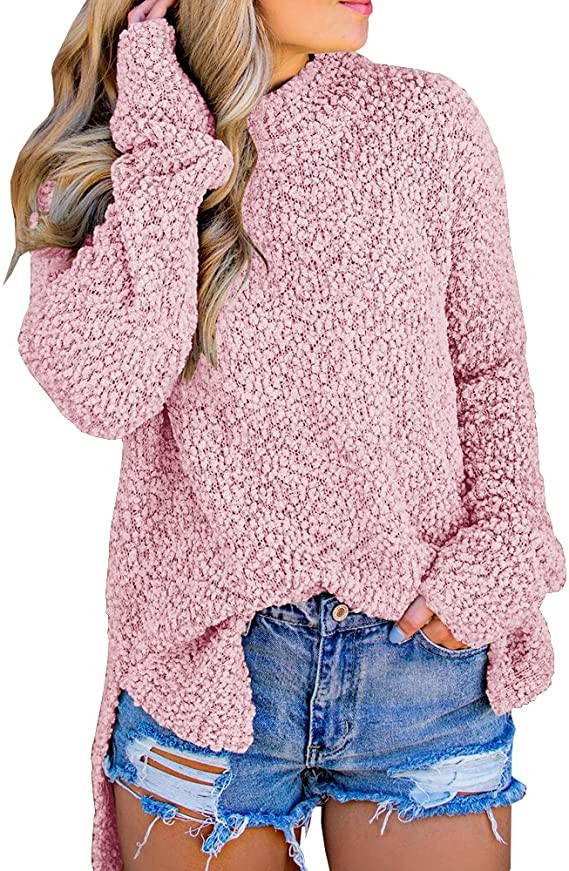 Pastel Pink Spring Sweater From Amazon