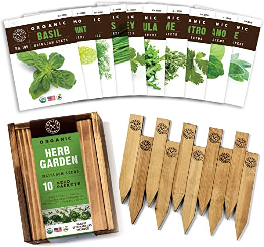 Garden Herb Seeds From Amazon