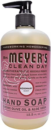 Mrs. Meyer's Hand Soap From Amazon (Can Also Be Found at Target!) Rosemary Scent