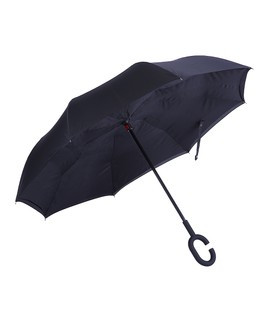 Black Inverted Umbrella From Zulily