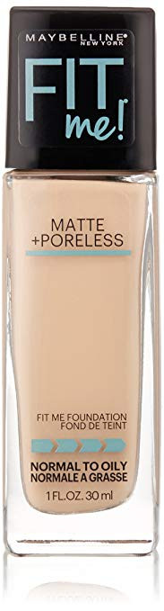 Maybelline New York Fit Me! Matte Plus Pore Less Foundation