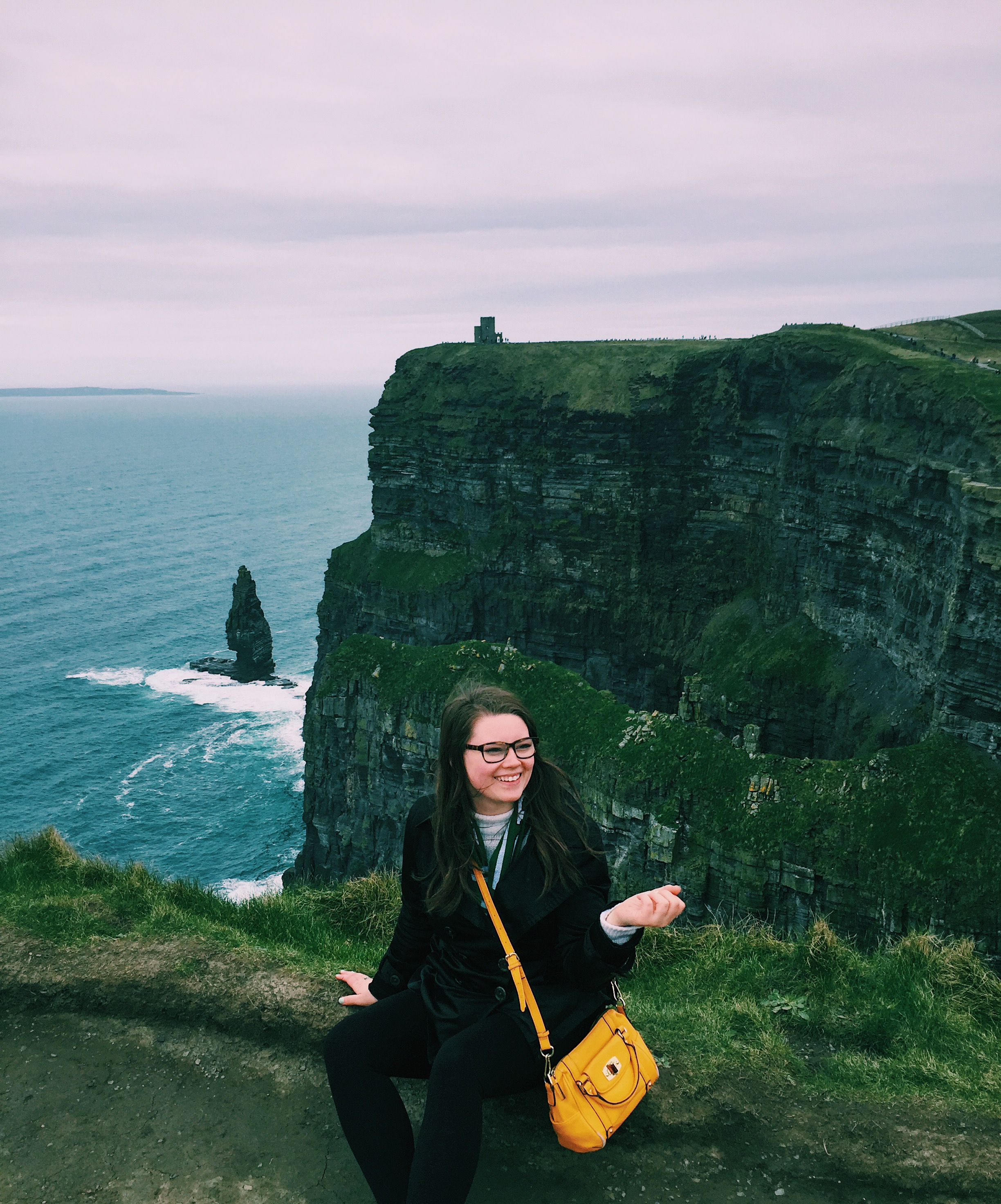 Me on the Cliffs of Moher