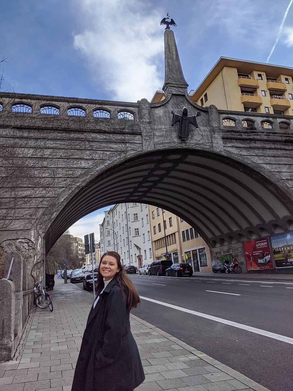 Jen Gibbs in Munich, Germany