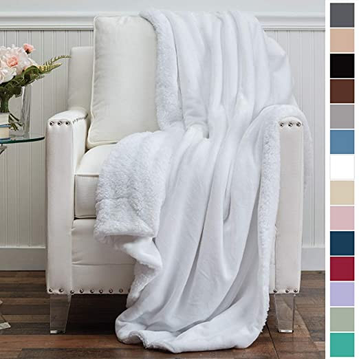 Soft, Fuzzy Blanket In A Variety of Colors From Amazon