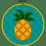 Pineapple Cross-Stitch