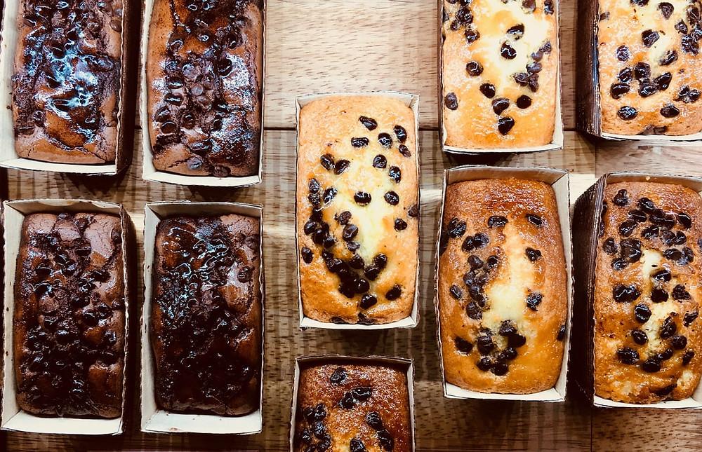 Various types of breads - Irish Soda Bread