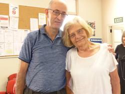 Evelyn and Bob Hurley