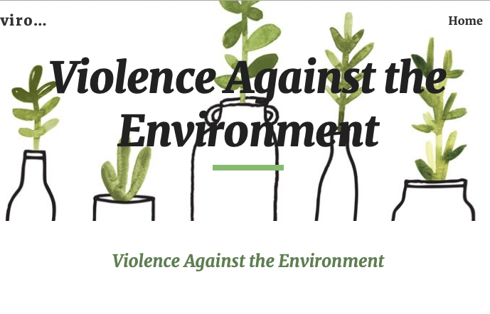 Violence Against the Environment