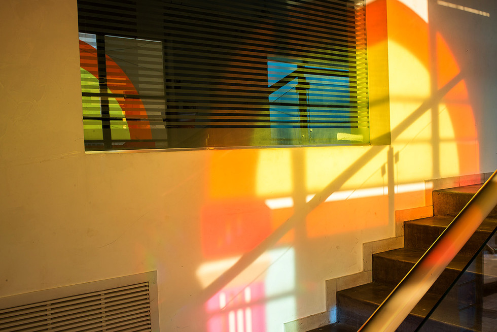 Inside installation view