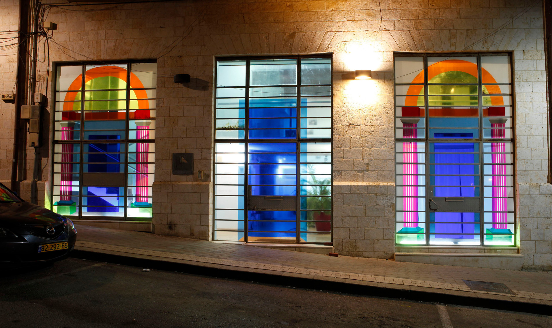 Architecture and The Every day, 2017 Two Person Show,The Architect's House, Tel-Aviv. Curated by Eran Eizenhamer