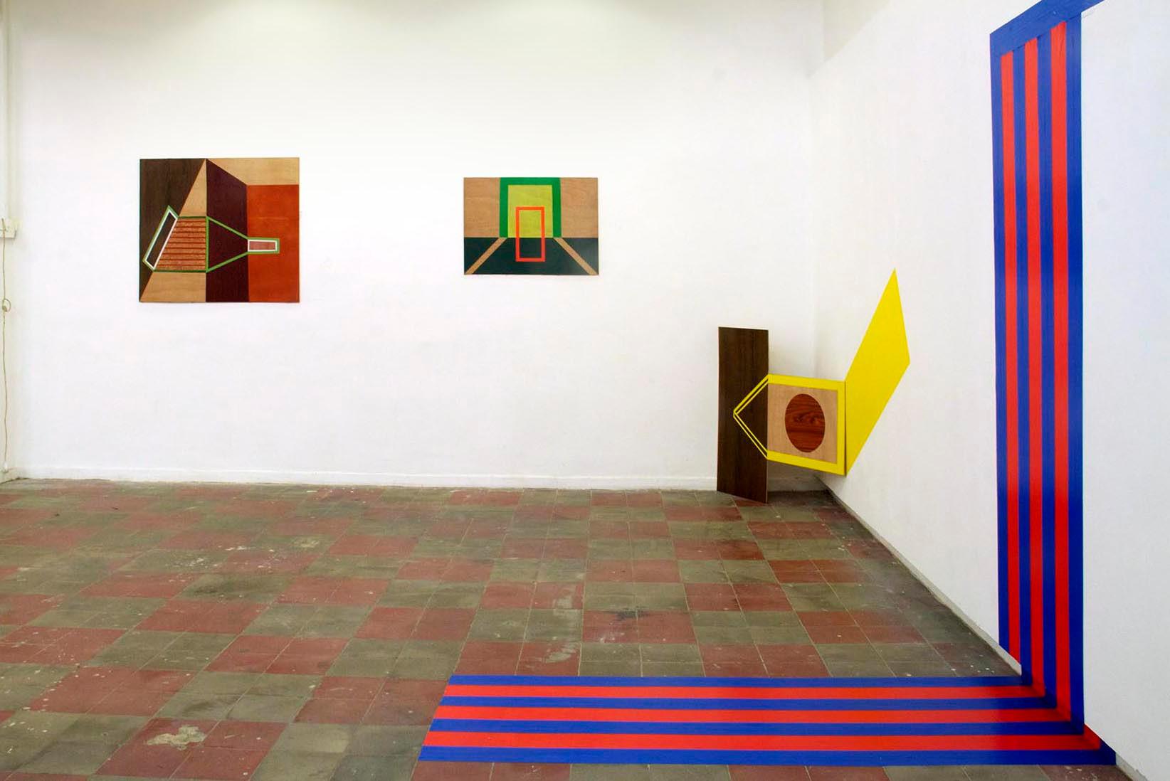 BETWEEN THE LINES, 2014. B.F.A middle exhibition, Shenkar, Tel-Aviv