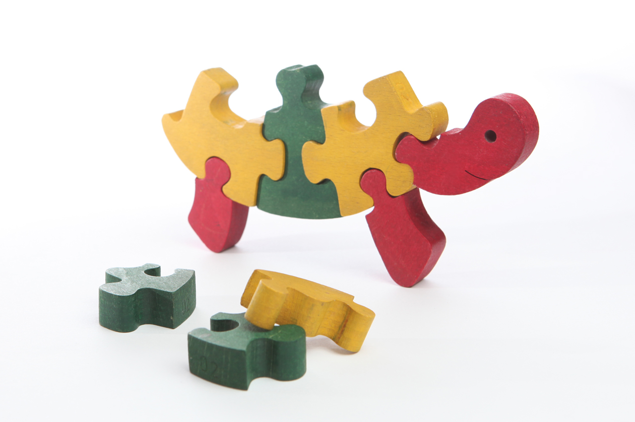 Turtle Puzzle Pieces