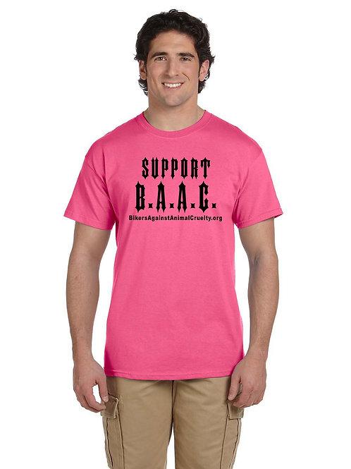 PINK Support B.A.A.C. T-Shirt (Unisex)