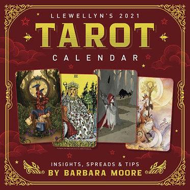 2021 Tarot Calendar by Llewellyn