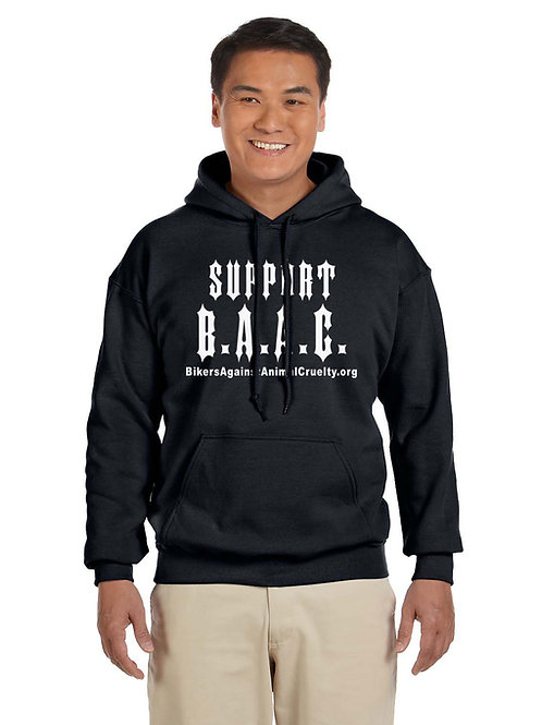 Support B.A.A.C. Pull-Over Hoodie