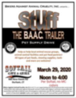 Stuff the B.A.A.C. Trailer Flyer