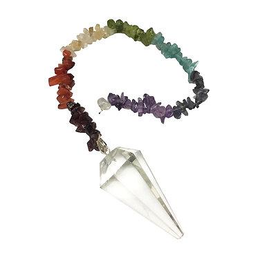 Pendulum with Chakra Chip Chain