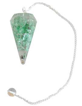 Apatite Orgone pendulum