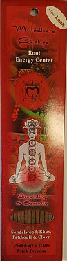 Root Chakra Incense Stick (10 pack)
