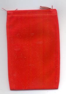 Red Mojo Bag (large)