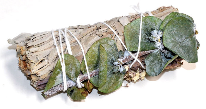"""4"""" White Sage, Lavender & Eucalyptus stick"""