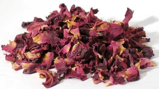 Rose Buds & Petals, Red 2 oz (Rosa gallica)