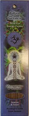 Third Eye Chakra Incense Stick (10 pack)