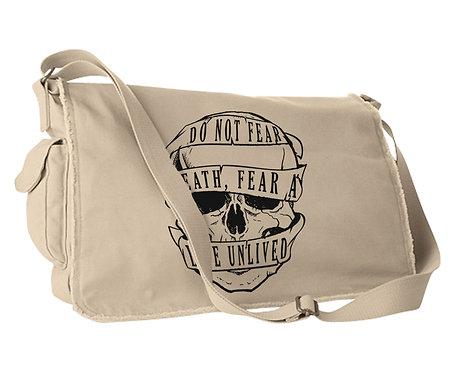 """FEAR LIFE"" Messenger Bag"
