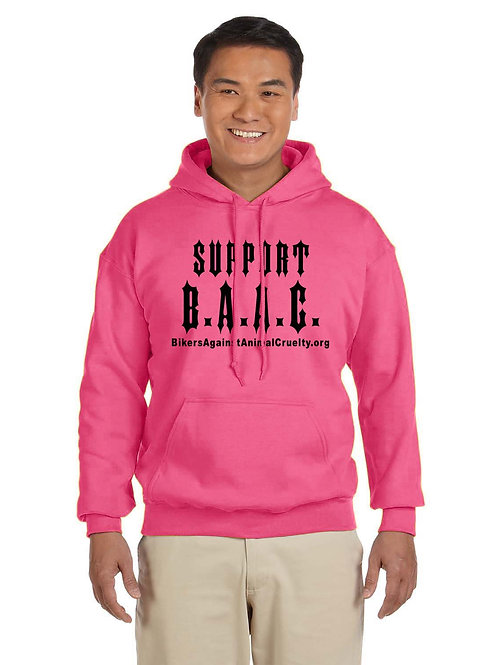 PINK Support B.A.A.C. Pull-Over Hoodie