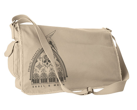 """Protected By The Angels""  Messenger Bag"