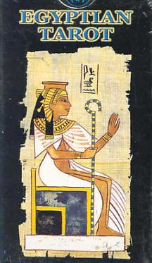Egyptian tarot by Silvana Alasia