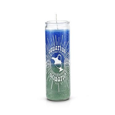 Aquarius Multicolor 7 Day Horoscope Candle