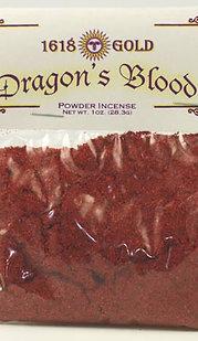 1oz Dragons Blood powder incense