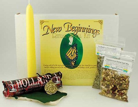 New Beginnings Ritual kit